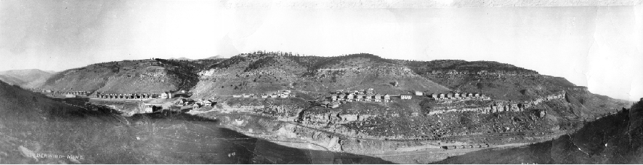 Panorama on the Berwind mine in 1923. Courtesy Glen Aultman.