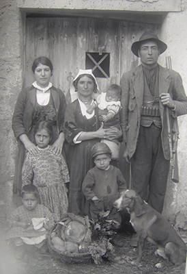 Family from Calabria, circa 1900 [Internet]