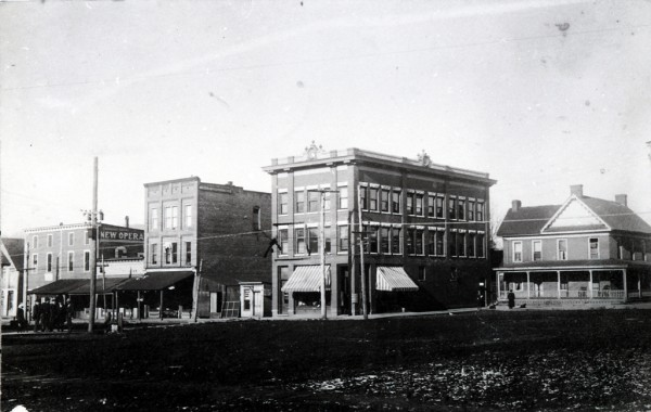 Main Street in Murphy NC, ca 1860